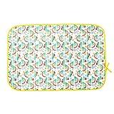 TotsBots - Materassino per cambio pannolini, in plastica, morbido, impermeabile, da viaggio