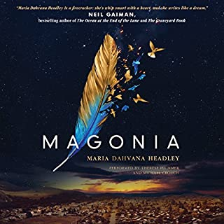 Magonia audiobook cover art