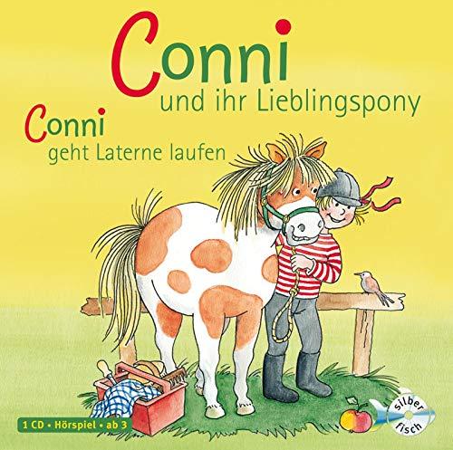 Conni und ihr Lieblingspony / Conni geht Laterne laufen (Meine Freundin Conni - ab 3): 1 CD