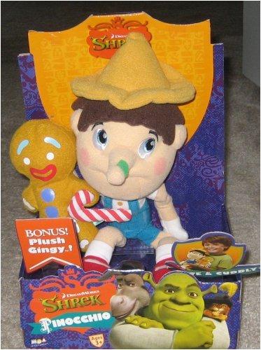 30CM Shrek Adventure Gingerbread Man Gingy Plush Toy Stuffed Animal Doll Xmas