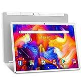 Tablet 10 Zoll ANTEMPER Android 10 Tablet PC 5G WiFi Octa Core 1920x1200 FHD IPS 13MP+5MP Kamera 6000mAh Akku 32GB ROM 128GB Erweiterbar Google GMS Zertifiziert Wi-Fi GPS Bluetooth FM OTG Weiß