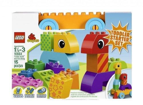 LEGO Duplo 10554 -  Bloques y Base con Ruedas para Bebés