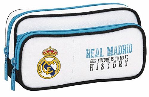 Real Madrid - Estuche portatodo con Bolsillo (SAFTA 811754602)