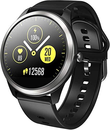 F11 ECG reloj inteligente 1 22 TFT color IPS pantalla monitoreo ritmo cardíaco Bluetooth contador de pasos deportes reloj 200mAh
