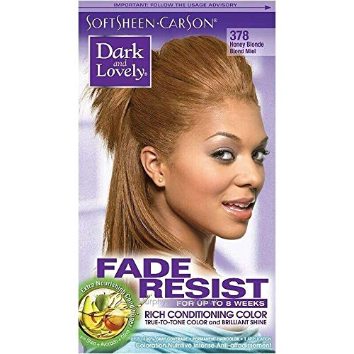 Dark and Lovely Fade Resistant Rich Conditioning Color Haarfarbe / Hair Color Honey Blonde 378