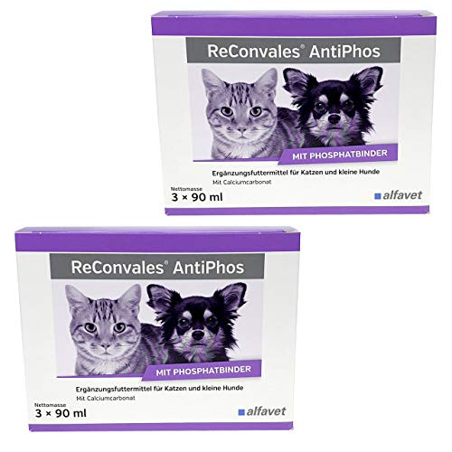 zoodiscount 6x90 ml Alfavet ReConvales AntiPhos (2er Pack = 540ml)
