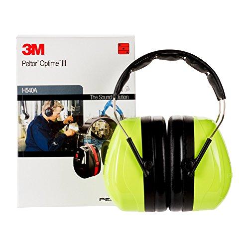 3M Peltor Optime III Kapselgehörschutz mit Kopfbügel, Hi-Viz, SNR 35 dB - 5
