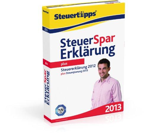 Steuer-Spar-Erklärung Plus 2013 (für Steuerjahr 2012)