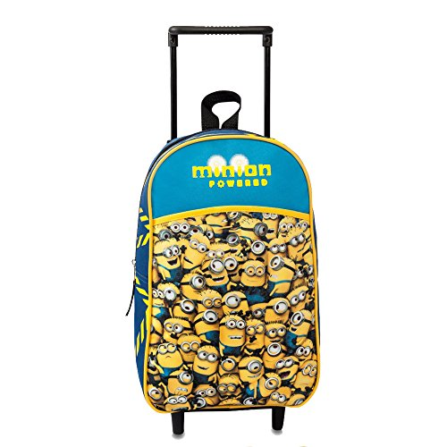 Mercury Minions-GRU Mochila con Carro, Color Amarillo