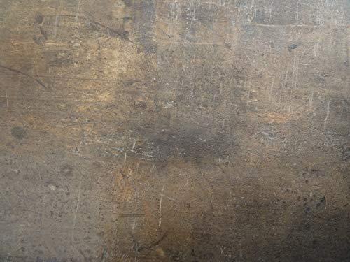 PVC Bodenbelag in Metalloptik (6,95€/m²), kleines Muster