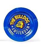 The Bulldog Amsterdam Metallaschenbecher blau