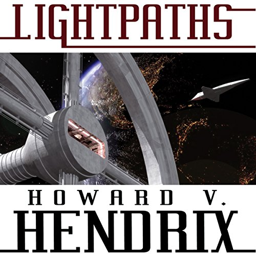 Lightpaths: A Science Fiction Novel audiobook cover art