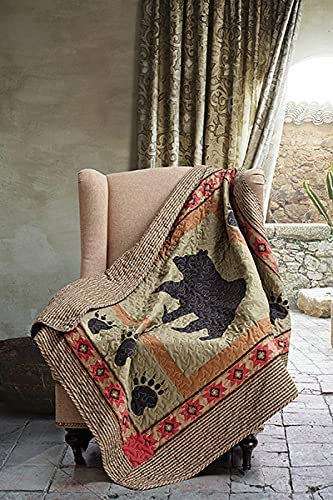 Virah Bella Quilted Throw Blanket - 50