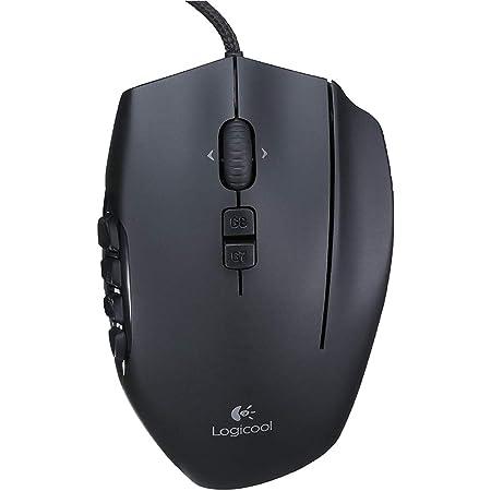 Logicool G ロジクール G ゲーミングマウス 有線 G600t MMO ゲーム用 20ボタン LIGHTSYNC RGB 国内正規品