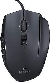 Logicool G ゲーミングマウス G600t ブラック usb 有線 MMO ゲームマウス 20個 多ボタン RGB G600 国内正規品 2年間メーカー保証