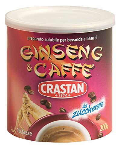 Crastan Ginseng e Caffe Preparato Solubile per Bevanda, 200g