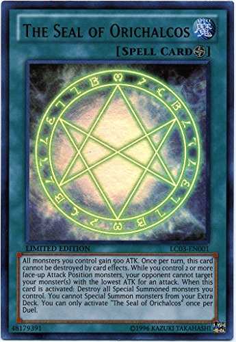 Yu-Gi-Oh! - The Seal of Orichalcos (LC03-EN001) - Legendary Collection 3: Yug...