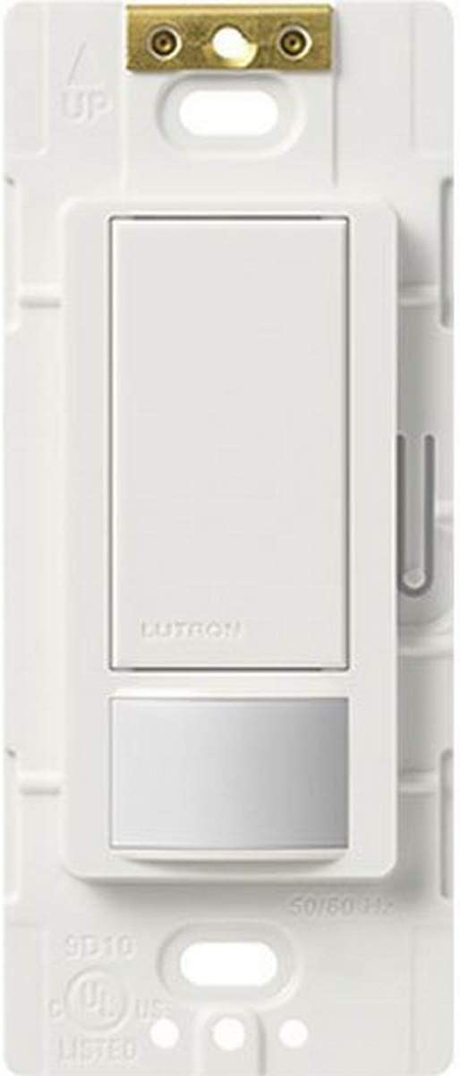 LUTRON ELECTRONICS INC MS-OPS5MH-WH Maestro Occupancy Sensor Electrical Distribution Switcher, White