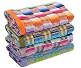 Kpblis Kitchen Towels   Hand Towels   Small Hand or Bath Towels   Fingertip Towels   Thin Cleaning Cloths or Rags   Multipurpose for Drying and Wiping Dish Towel 10' x 19' Assorted Color 10-Pack