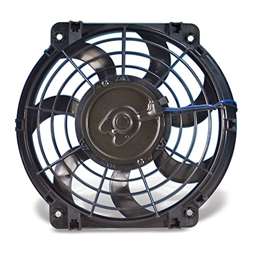 "Flex-a-lite 390 S-Blade Black 10"" Electric Fan"