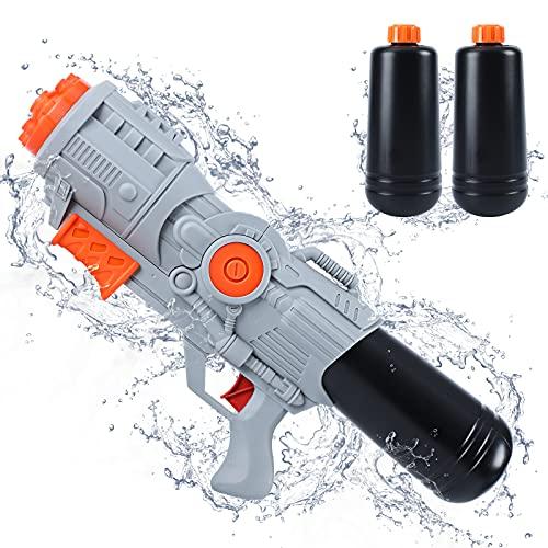 Tinleon Water Gun Super Blaster: Water Blaster 2400cc High-Capacity...