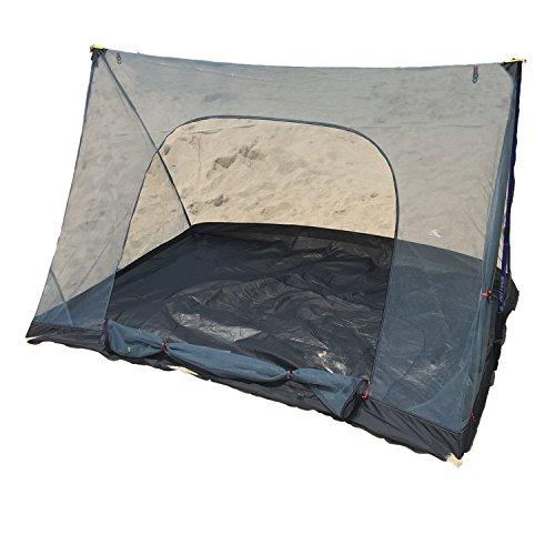 FLYFLYGOモスキートネット(蚊帳)超軽量携帯式テントキャンピング、キャンプ、アウトドアに