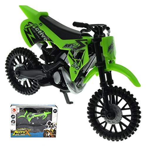 VENTURA TRADING MXX Verde Moto de Motocross Modelo a Escala Motocicleta Moto de Juguete Motocross MXS