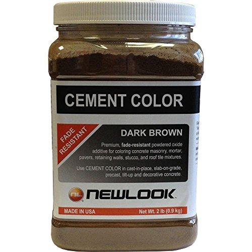 NewLook 2 lb. Dark Brown Fade Resistant Cement Color