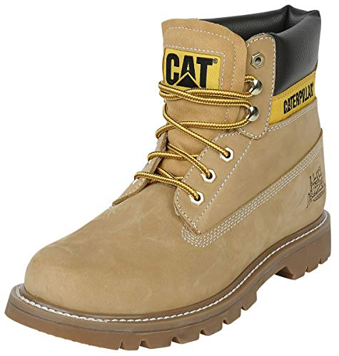 Cat Footwear Colorado Stivali, Uomo, Giallo (Honey), 44 EU