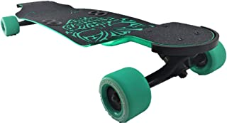 Beercan Boards Ginger ALE Tribal Skull,  Teal,  32 x 8