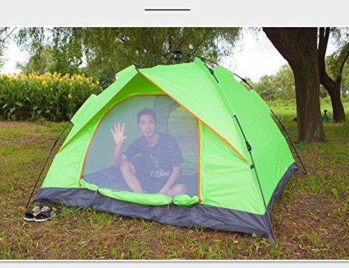 Tienda de campaña al Aire Libre Abierto automática exploradores Velocidad 3-4 Persona viviendas Lluvia 2 litera Doble Camping Kit de Julio