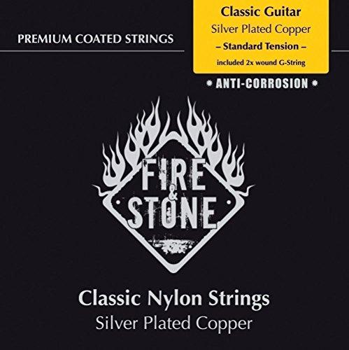 Fire&Stone Saiten für Klassik-Gitarre Fire&Stone Classic String Set - Standard tension