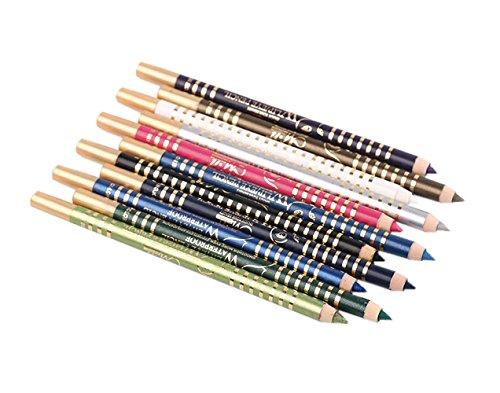 AKAAYUKO 12PCS Crayon a Sourcils Maquillage de Beauté Cosmetique