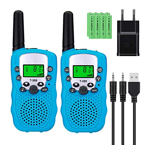 Walkie Talkie Niños Recargable Larga Distancia Marca Sigdio
