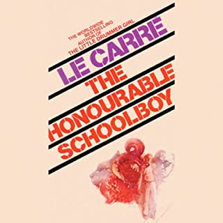 The Honourable Schoolboy audiobook cover art