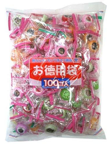 金扇ドロップス 徳用 ラブリーキャンディ 100個