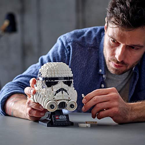 LEGO75276StarWarsStormtrooperHelmetDisplayBuildingSet,AdvancedCollectibleGiftModelforAdults