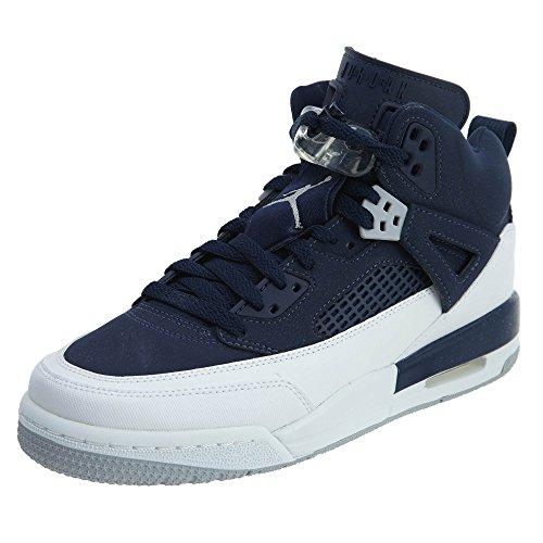 Jordan - SPIZIKE BG - Basketball - Mid Top - Sneaker - navy / weiss