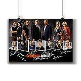 Pentagonwork Criminal Minds TV-Foto-Poster 271-001,