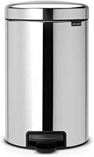 ブラバンシア ダストボックス ペダルビン ニューアイコン 12L クローム 113581