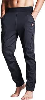 Souke Sports Men's Bike Cycling Pants Windproof Hiking Outdoor Winter Fleece Thermal Athletic Pants