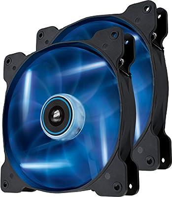 Corsair Air Series SP 140 LED High Static Pressure Fan Cooling - Single/Twin Pack