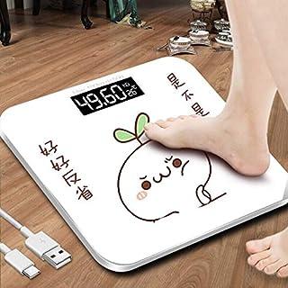 Básculas de baño Mala Escala Usb Electrónica Balanza Digital Grasa Corporal Inteligente Balanza Doméstica Conectar Composición Escala De Peso