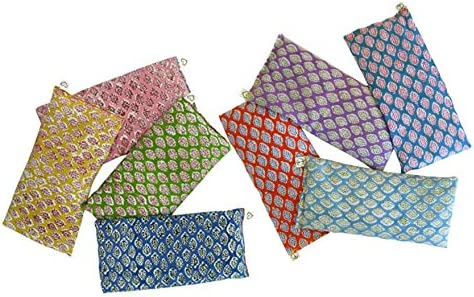Peacegoods Scented Eye Pillows Pack of 8 Soft Cotton 4 x 8 5 Organic Lavender Flax Seed Hand product image
