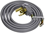 GE WX09X10004 Genuine OEM Power Cord (Grey) for GE Dryers
