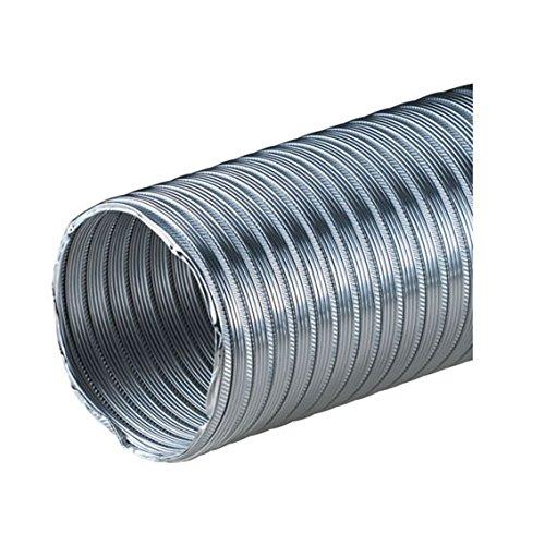 150 mm ALUFLEXROHR ALUFLEX Flexrohr Alurohr Flexschlauch Aluflexschlauch 3 m gestaucht auf ca. 1m Hitzebeständig bis 200 Grad