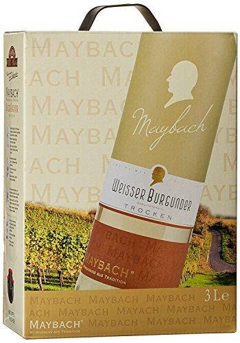 Maybach Weißer Burgunder trocken Bag-in-Box (1 x 3 l) - 3