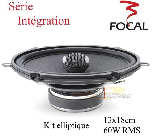 IC570 - Focal Integration 5'x7' 2-Way Coaxial Car Speakers IC-570