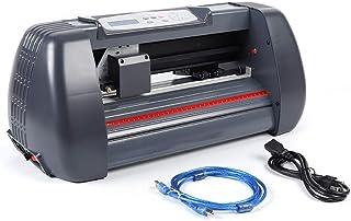 CNCEST Vinyl Cutter 34 Inch Plotter Cutter Sign Making Kit w/Design & Cut Software Supplies Tools 10-800MM / s Cutting Wid...