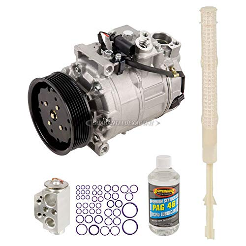 For 2007 VW Touareg V8 Engine Code AXQ AC Compressor w/A/C Repair Kit - BuyAutoParts 60-89894RK New